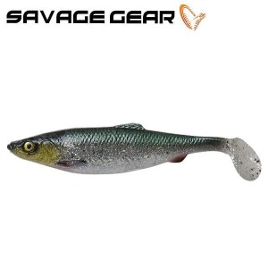 Savage Gear Herring Shad 4 D Green Silver  11cm