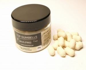 MatchPro Top Dumbells White Chocolate 7/10