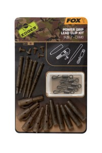 Fox Camo Power grip lead Clip Kit Zestaw
