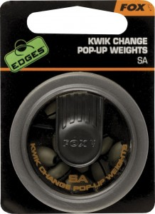 Fox Kwik Change pop-up weights AAA