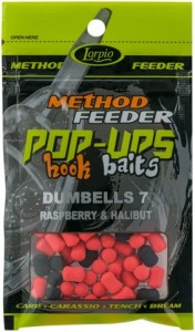 Dumbells Lorpio Rasberry  Halibut Pop Up 7/10 mm