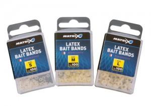 Matrix Latex Bait Bands 100szt. Small