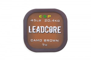 ESP Leadcore Camo Brown 7m
