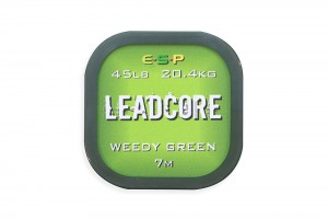 ESP Leadcore Weedy Green  7m