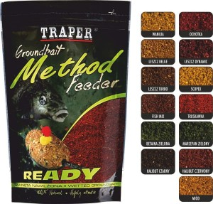 Traper Zanęta Method Feeder Ready 750g