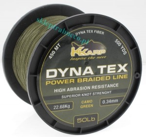 Dyna Tex Power Braid K-KARP 457m